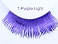 Clowning | Apparel | Eyelashes | Tinsel Eyelashes | Purple