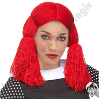 Clowning | Apparel | WIGS | Raggedy Ann and Andy Wigs | Ann