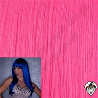 Kelly Wig Hot Pink