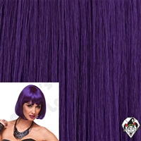 Clowning | Apparel | WIGS | Cindy Wigs | Dark Purple