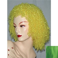 Giggles Wig Green (pictured in yellow)