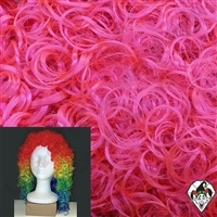 Clowning | Apparel | WIGS | Wetlook Wigs | Hot Pink