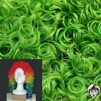 Clowning | Apparel | WIGS | Wetlook Wigs | Green