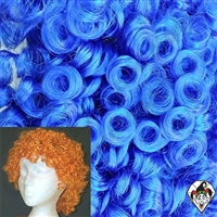 Clowning | Apparel | WIGS | Curly Clown Wigs | Yellow