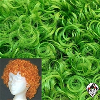 Clowning | Apparel | WIGS | Curly Clown Wigs | Green