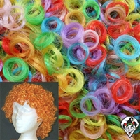 Clowning | Apparel | WIGS | Curly Clown Wigs | Multi Color