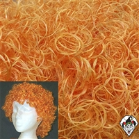 Clowning | Apparel | WIGS | Curly Clown Wigs | Orange