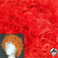 Clowning | Apparel | WIGS | Curly Clown Wigs | Red