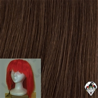 Clowning | Apparel | WIGS | Straight Silly Boy Wigs | Brown