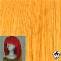 Clowning | Apparel | WIGS | Straight Silly Boy Wigs | Orange