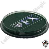 Diamond FX Essential Dark Green 30 Gram Face & Body Paint