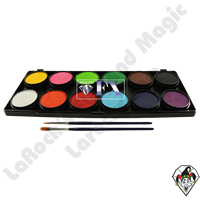 Diamond FX Palette Essential 12 x 10 Gram Face & Body Art Paint