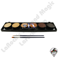 Diamond FX Palette Skintones 6 x 10 Gram Face & Body Art Paint