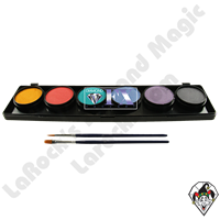 Diamond FX Palette Pastel 6 x 10 Gram Face & Body Art Paint
