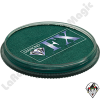 Diamond FX Metallic Green 30 Gram Face & Body Paint