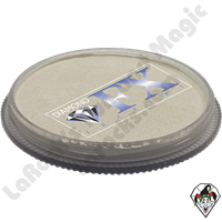 Diamond FX Metallic White 30 Gram Face & Body Paint