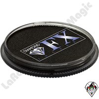 Diamond FX Metallic Black 30 Gram Face & Body Paint