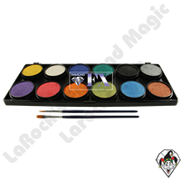 Diamond FX Palette Metallic 12 x 10 Gram Face & Body Art Paint