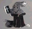 Magic | Gospel Magic | Rabbit in Hat Decal | Small