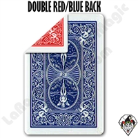 Bicycle Double Back Red/Blue Gaffed Cards