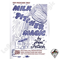 Magic | Stage Magic | Milk Pitcher Book