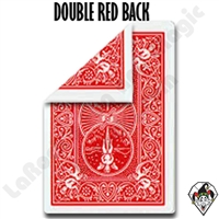 Magic | Card Magic | Gaffed Cards | Double Back Red