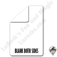 Double Blank Blank Both Sides Bicycle