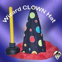 Wizard Clown Assistant Hat