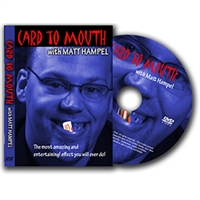 DVD Card To Mouth By Matthew Hampel