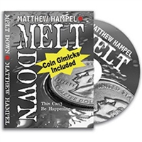 DVD Meltdown w/ Coin By Matthew Hampel