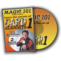 DVD Magic 101 Slush Powder By Todd Buchanan