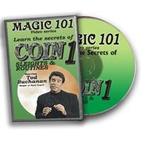 DVD Magic 101 Sponge Ball Sleights 1 By Todd Buchanan