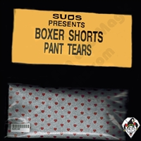 Boxer Shorts Paper Hat Tears