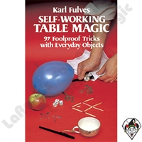 Magic | Magic Books | Self-Working Table Magic
