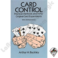 Magic | Magic Books | Card Control by Arthur H. Buckley