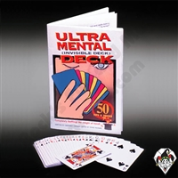 Ultra Mental Invisible Card Deck Booklet