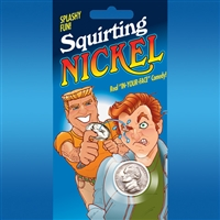 Jokes & Novelties | Jokes | Squirting Jokes | Squirt Nickel