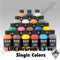 LUX Airbrush Mehron Makeups  2.5 oz Bottles