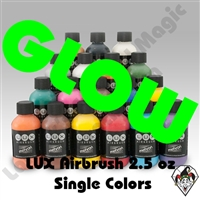 Lux Airbrush Mehron Fluorescent Makeups 2.5 oz Bottles