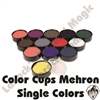 Mehron Color Cups Single Colors