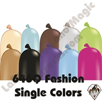 646Q Fashion Single Color Balloons Qualatex 50ct