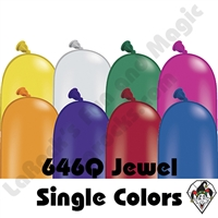 646Q Jewel Single Color Balloons Qualatex 50ct