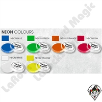 Global Body Art Neon Single Colors 32 Gram Face and Body Paint