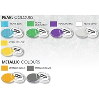 Global Body Art Pearl & Metallic Single Colors 32 Gram Face and Body Paint