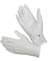 Clowning | Apparel | Gloves | Cotton Gloves With Snap | Large