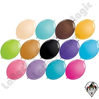 12 Inch Quick Link Fashion Single Color Balloons Qualatex