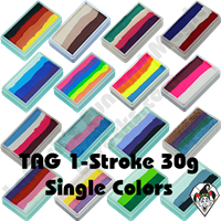 TAG 1 Stroke Split Cake 30g Single Colors