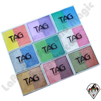 TAG 2 Color Split Cake Pearl 50 Gram Face & Body Art Paints