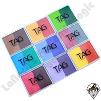 TAG 2 Color Split Cake Regular 50 Gram Face & Body Art Paints