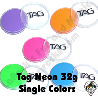 TAG Neon 32 Gram Face & Body Art Paints